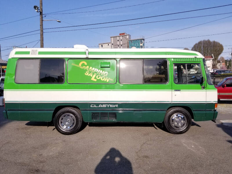 1992 Toyota Coaster Turbo diesel 1HD-TU for sale at JDM Car & Motorcycle LLC in Seattle WA