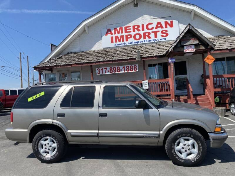 2000 Chevrolet Blazer for sale at American Imports INC in Indianapolis IN