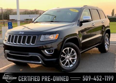 2016 Jeep Grand Cherokee for sale at Premier Auto Group in Union Gap WA