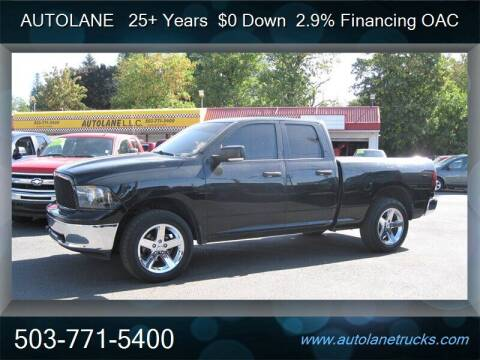 2011 RAM Ram Pickup 1500 for sale at Auto Lane in Portland OR