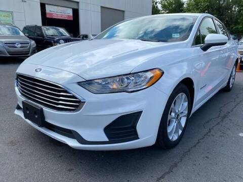 2019 Ford Fusion Hybrid for sale at Pleasant Auto Group in Chantilly VA