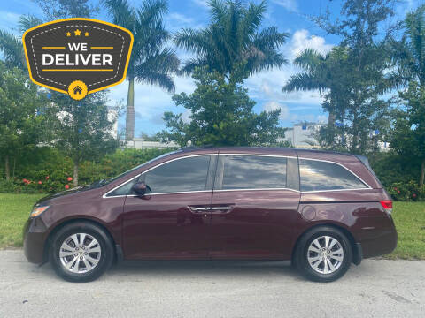 2014 Honda Odyssey for sale at D & P OF MIAMI CORP in Miami FL