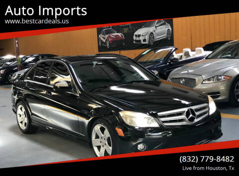 2009 Mercedes-Benz C-Class for sale at Auto Imports in Houston TX