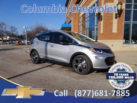 2021 Chevrolet Bolt EV for sale at COLUMBIA CHEVROLET in Cincinnati OH