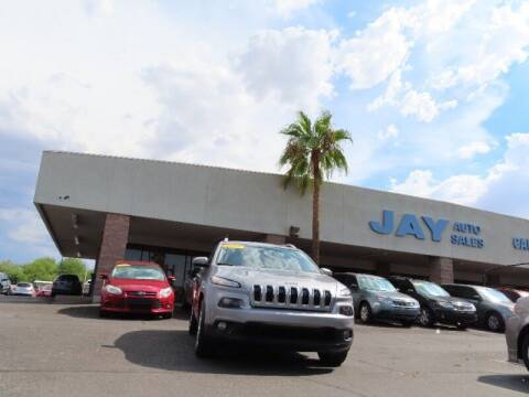 2017 Jeep Cherokee for sale at Jay Auto Sales in Tucson AZ