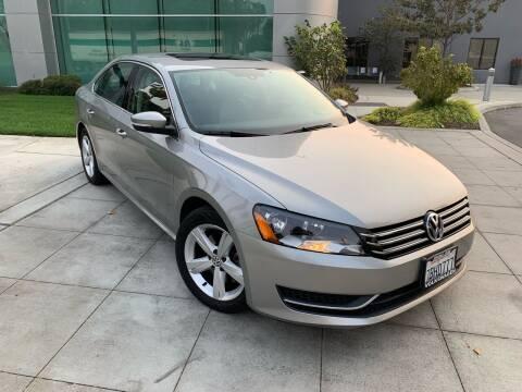 2013 Volkswagen Passat for sale at Top Motors in San Jose CA