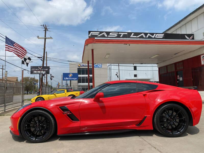 2019 Chevrolet Corvette for sale at FAST LANE AUTO SALES in San Antonio TX