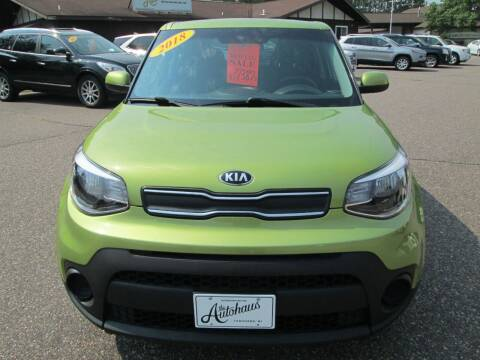 2018 Kia Soul for sale at The AUTOHAUS LLC in Tomahawk WI