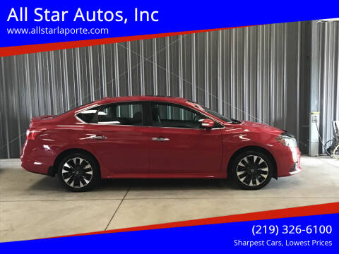 2016 Nissan Sentra for sale at All Star Autos, Inc in La Porte IN