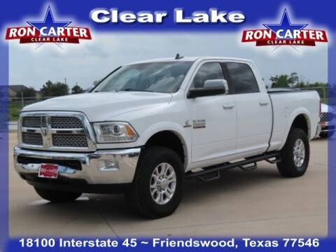 2016 RAM Ram Pickup 2500 for sale at Ron Carter  Clear Lake Used Cars in Houston TX