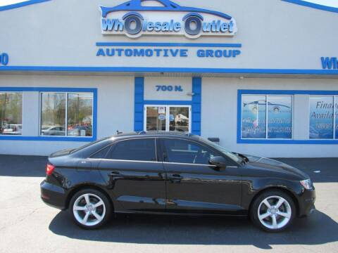 2016 Audi A3 for sale at The Wholesale Outlet in Blackwood NJ