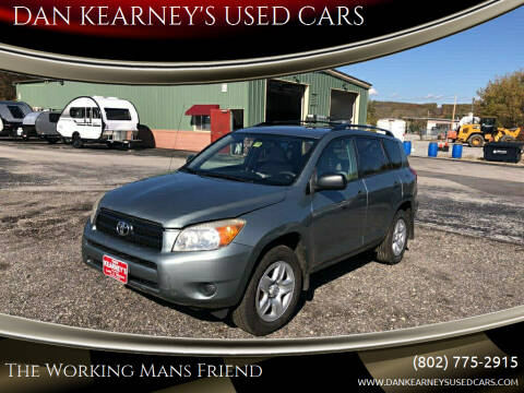 2008 Toyota RAV4 for sale at DAN KEARNEY'S USED CARS in Center Rutland VT