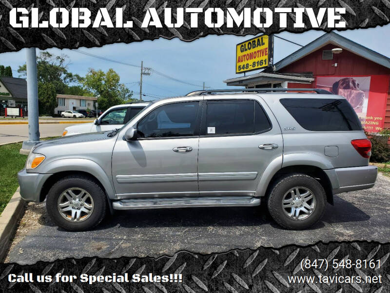 2005 Toyota Sequoia for sale at GLOBAL AUTOMOTIVE in Grayslake IL