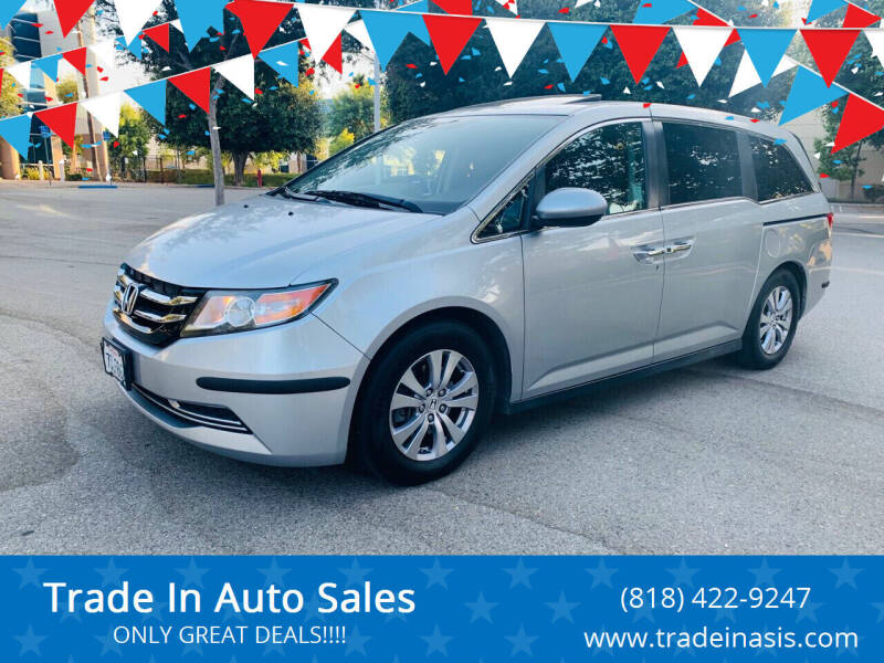2014 Honda Odyssey for sale at Trade In Auto Sales in Van Nuys CA