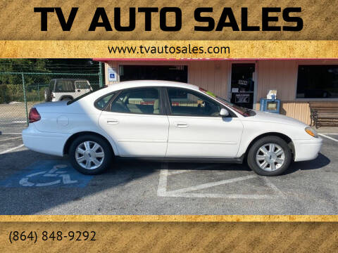 2007 Ford Taurus for sale at TV Auto Sales in Greer SC