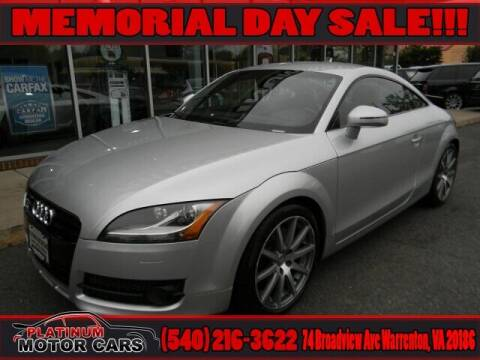 2008 Audi TT for sale at Platinum Motorcars in Warrenton VA
