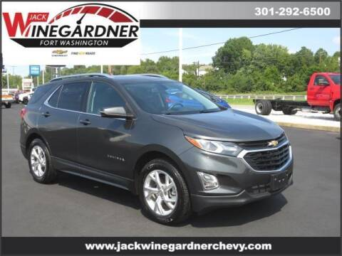 2019 Chevrolet Equinox for sale at Winegardner Auto Sales in Prince Frederick MD