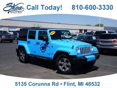 2018 Jeep Wrangler JK Unlimited for sale at Jamie Sells Cars 810 - Linden Location in Flint MI