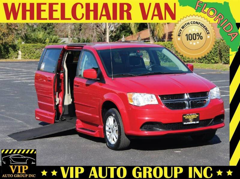 2014 Dodge Grand Caravan for sale at VIP Auto Group in Clearwater FL