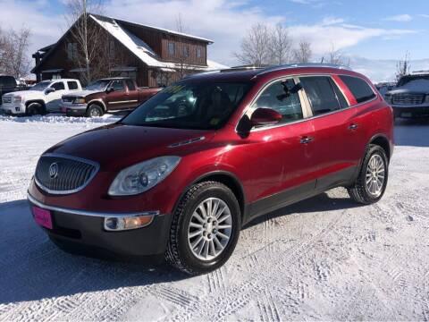 2012 Buick Enclave for sale at Snyder Motors Inc in Bozeman MT