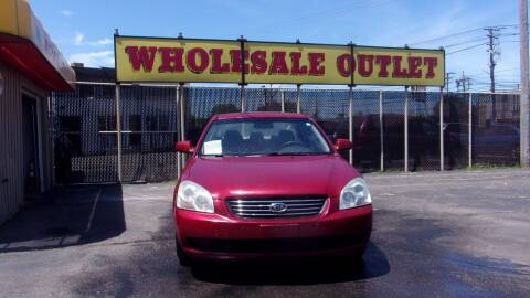 2008 Kia Optima for sale at LONG BROTHERS CAR COMPANY in Cleveland OH