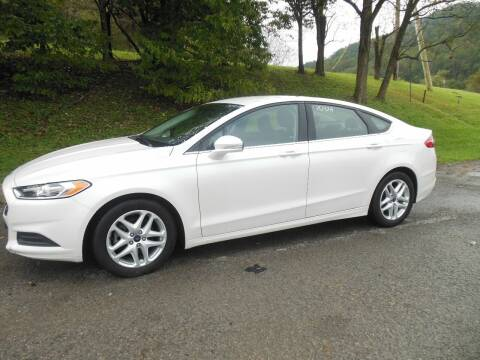 2013 Ford Fusion for sale at WESTON FORD  INC in Weston WV