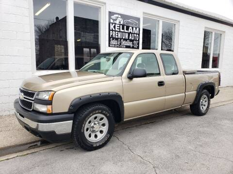 2006 Chevrolet Silverado 1500 for sale at Kellam Premium Auto Sales & Detailing LLC in Loudon TN