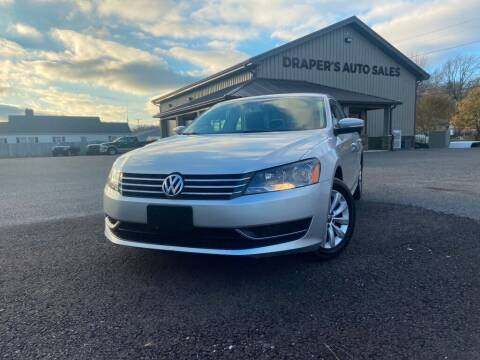 2014 Volkswagen Passat for sale at Drapers Auto Sales in Peru IN