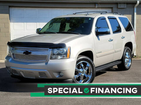 2007 Chevrolet Tahoe for sale at Riverfront Auto Sales in Middletown OH