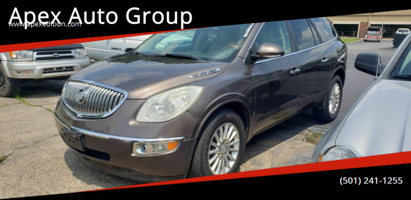 2012 Buick Enclave for sale at Apex Auto Group in Cabot AR