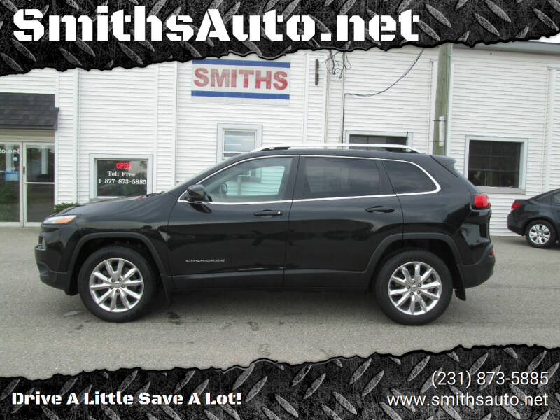 2016 Jeep Cherokee for sale at SmithsAuto.net in Hart MI