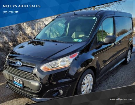 2016 Ford Transit Connect Cargo for sale at NELLYS AUTO SALES in Souderton PA