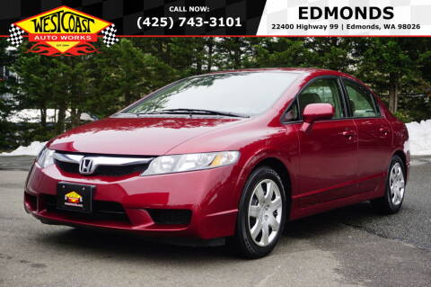 2009 Honda Civic for sale at West Coast Auto Works in Edmonds WA