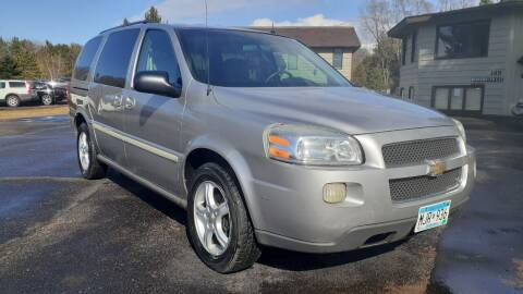 2005 Chevrolet Uplander for sale at Shores Auto in Lakeland Shores MN