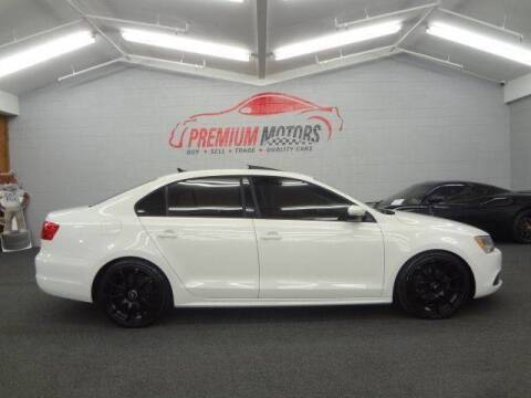 2012 Volkswagen Jetta for sale at Premium Motors in Villa Park IL