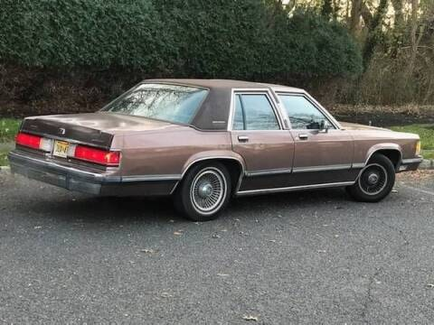 1989 Mercury Grand Marquis for sale at Classic Car Deals in Cadillac MI