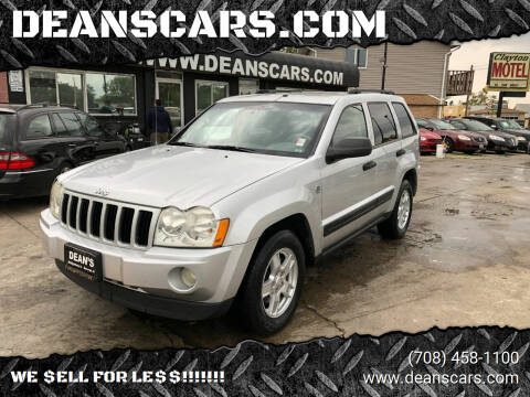 2005 Jeep Grand Cherokee for sale at DEANSCARS.COM in Bridgeview IL