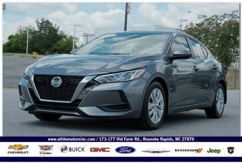 2020 Nissan Sentra for sale at WHITE MOTORS INC in Roanoke Rapids NC