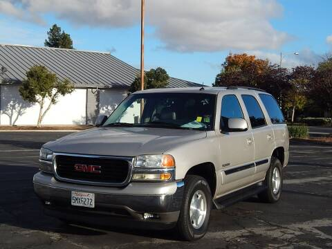 2005 GMC Yukon for sale at Gilroy Motorsports in Gilroy CA