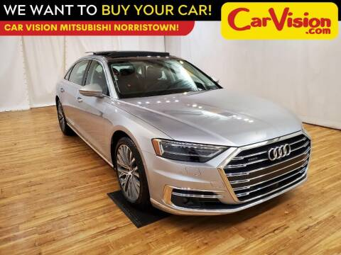 2019 Audi A8 L for sale at Car Vision Mitsubishi Norristown in Trooper PA
