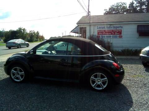 2004 Volkswagen New Beetle Convertible for sale at Locust Auto Imports in Locust NC