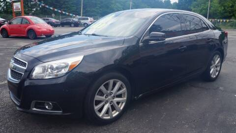 2013 Chevrolet Malibu for sale at G & R Auto Sales in Charlestown IN