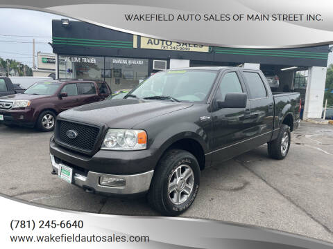 2005 Ford F-150 for sale at Wakefield Auto Sales of Main Street Inc. in Wakefield MA