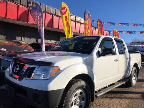 2016 Nissan Frontier for sale at Duke City Auto LLC in Gallup NM