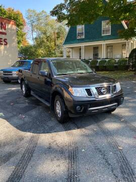 2012 Nissan Frontier for sale at FENTON AUTO SALES in Westfield MA