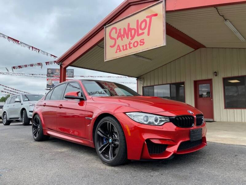 2015 BMW M3 for sale at Sandlot Autos in Tyler TX