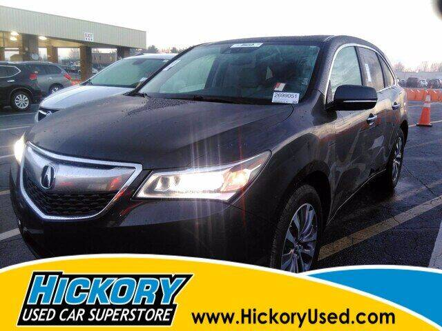 2015 Acura MDX for sale at Hickory Used Car Superstore in Hickory NC
