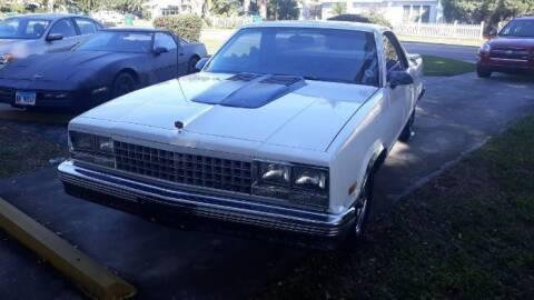 1986 Chevrolet El Camino for sale at Classic Car Deals in Cadillac MI