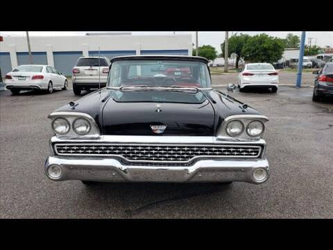 1959 Ford Fairlane 500 Retractable for sale at Euro-Tech Saab in Wichita KS