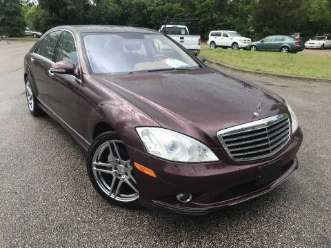 2007 Mercedes-Benz S-Class for sale at The Auto Depot in Raleigh NC
